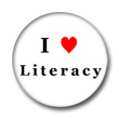 i heart literacy button