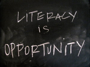 literacy is opportunity
